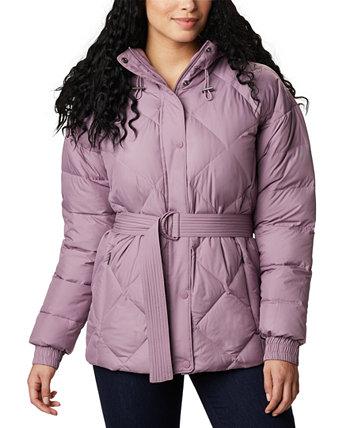 Женская куртка с капюшоном и поясом Icy Heights Columbia