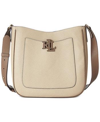 Кожаная сумка через плечо Cameryn Ralph Lauren