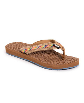 Женские шлепанцы Shore Vacation Flip Flop MUK LUKS