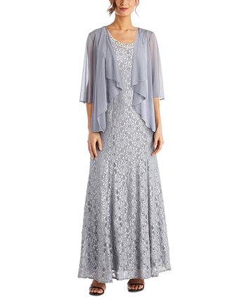 Кружевное платье и куртка для миниатюрных R & M Richards
