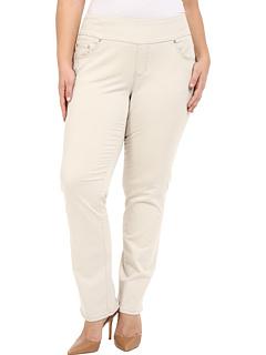 Брюки прямого покроя плюс размер Peri в бухте Twill Jag Jeans