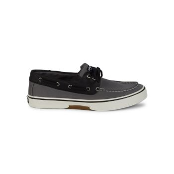 Halyard Two-Tone Boat Shoes Sperry
