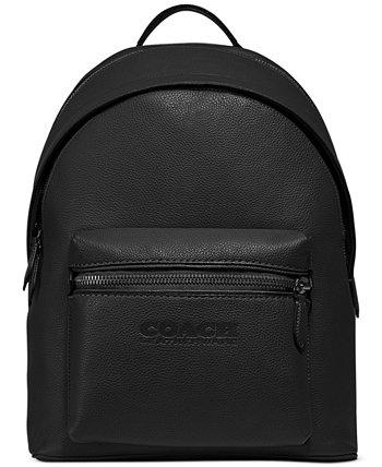 Мужской рюкзак Charter из изысканной шагреневой кожи COACH