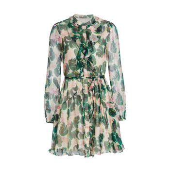 Платье Tilly с оборками SALONI