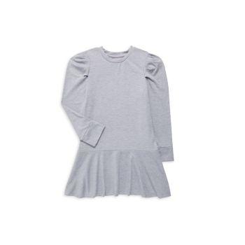 Платье френч терри с перьями для девочек BCBG Girls