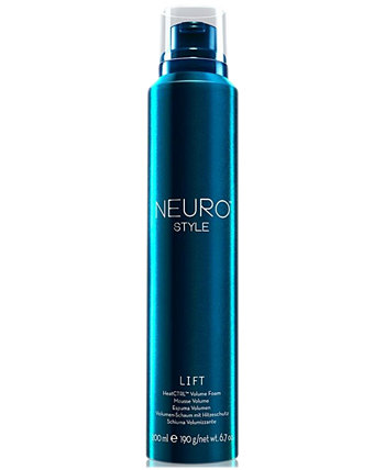 Пена для увеличения объема Neuro Style Lift HeatCTRL, 6,7 унции, от PUREBEAUTY Salon & Spa PAUL MITCHELL