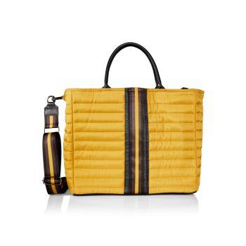 Стеганая сумка-тоут в парижском стиле THINK ROYLN