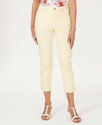 Tummy Control Bristol Capri Jeans, Created for Macy's Charter Club