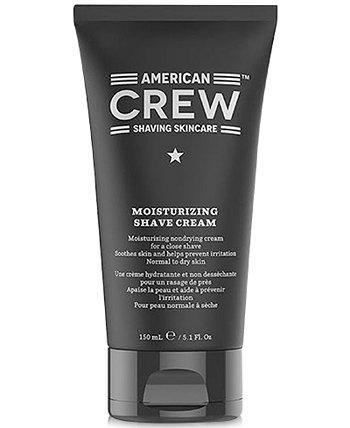 Увлажняющий крем для бритья, 5,1 унции, от PUREBEAUTY Salon & Spa American Crew