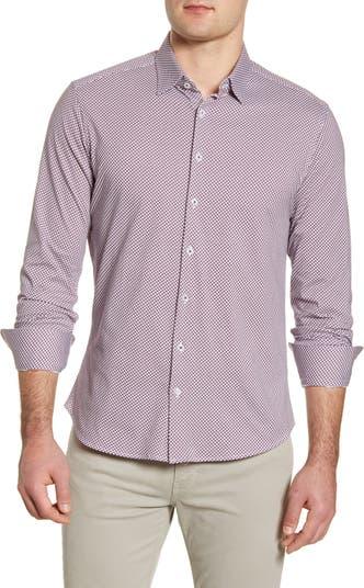 Трикотажная рубашка приталенного кроя на пуговицах Stone Rose
