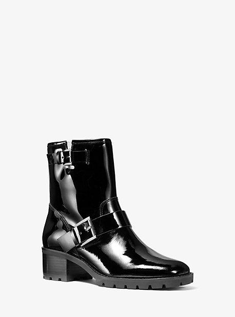 Ботинки Bronwyn из лакированной кожи Michael Kors