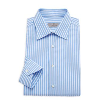 Modern-Fit Striped Shirt Canali