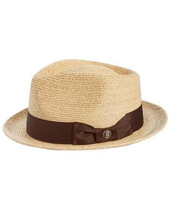 Мужская соломенная шляпа 42-й улицы Stetson