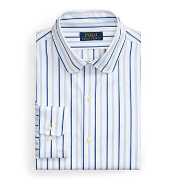 Рубашка из поплина в полоску на заказ Ralph Lauren
