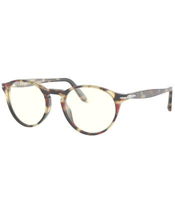 Мужские солнцезащитные очки Blue Light, PO3092SM 50 Persol
