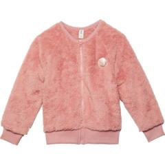 Faux Fur Jacket (Little Kids/Big Kids) HUXBABY
