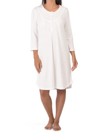 Ночная рубашка Contessa в горошек Miss Elaine
