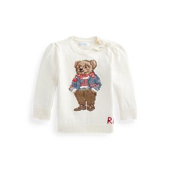 Свитер Polo Bear из хлопка Ralph Lauren