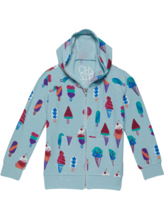 REPT Cozy Knit Long Sleeve Zip-Up Hoodie (Toddler/Little Kids) Chaser Kids
