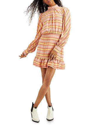 Мини-платье Bobbi с разрезом на спине LeRumi