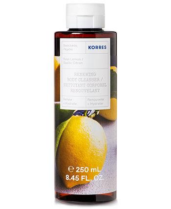 Basil Lemon Обновляющее очищающее средство для тела, 8.45 унций KORRES