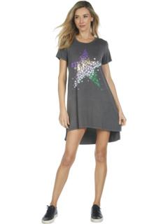 Платье-футболка Mirabella Confetti Star с боковым разрезом Lauren Moshi