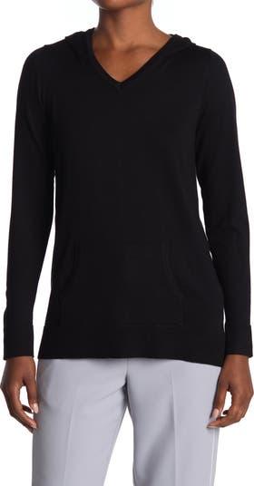 Пуловер с капюшоном и V-образным вырезом Cyrus