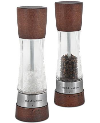 Подарочный набор для мельницы для соли и перца Derwent Forest Wood Cole & Mason