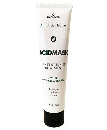 Кислотная маска для лица ADAMA, 4 унции Zion Health