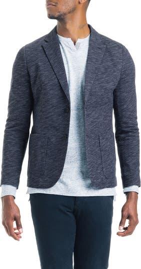 Пиджак приталенного кроя из винтажного трикотажа из твила Good Man Brand