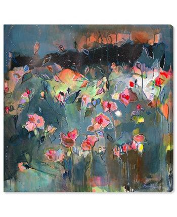 """Микаэла Нессим - Картина на холсте """"Тонкое сияние"""", 12 x 12 дюймов Oliver Gal"""