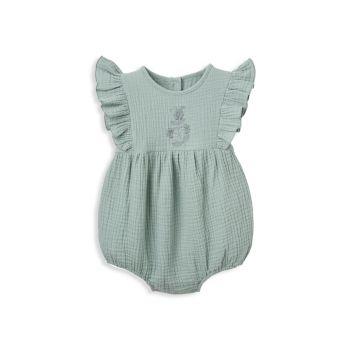 Детский комбинезон с пузырьками из органического муслина Elegant Baby