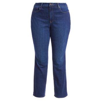 Прямые джинсы Marilyn NYDJ, Plus Size