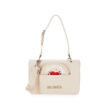 Convertible Shoulder Bag LOVE Moschino