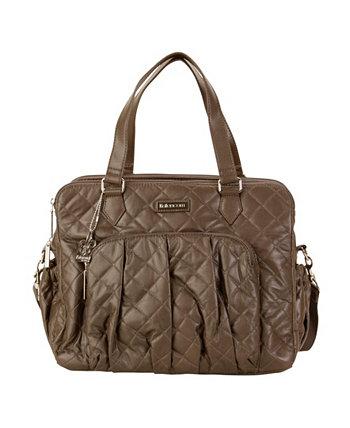 Берлинская стеганая веганская кожаная сумка для пеленок Kalencom