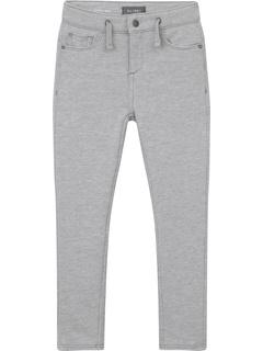 Зауженные джинсы William Slouchy из идеального трикотажа серого цвета вереск (Big Kids) DL1961 Kids