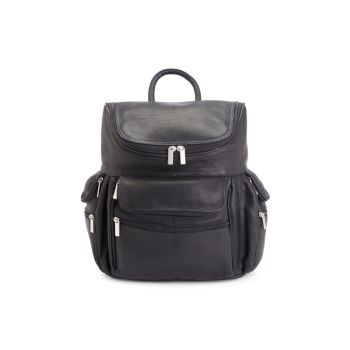 Vaquetta Leather Backpack Royce Leather