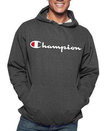 Толстовка с капюшоном для мужчин с логотипом Champion