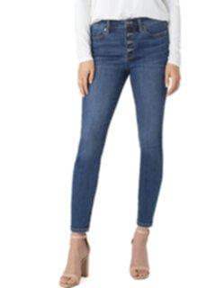 Устойчивые джинсы до щиколотки с открытой пуговицей Abby в цвете Barnes Liverpool