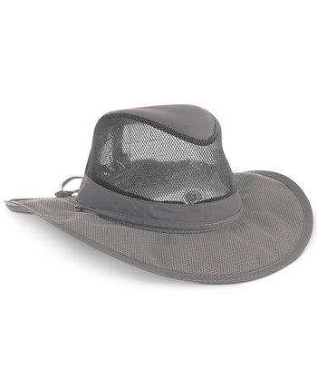 Сеплексная шляпа сафари сетки Dorfman Pacific