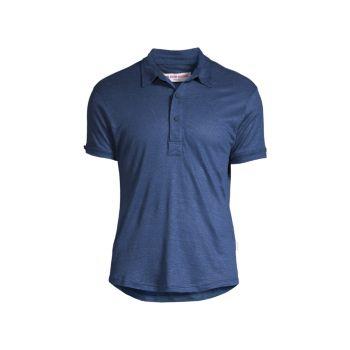 Льняная рубашка-поло ORLEBAR BROWN