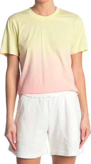 Sorbet Dip Dye T-Shirt Nicole Miller
