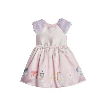Маленькая девочка & amp; Платье принцессы на день рождения девочки Pippa & Julie