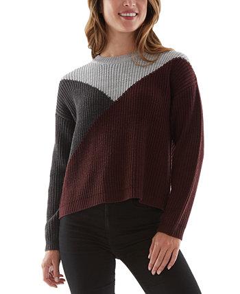 Вязаный свитер для юниоров с цветными блоками BCX