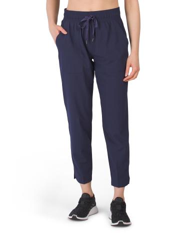Зауженные тканые брюки с разрезом по краю APANA