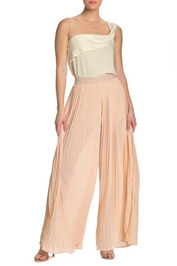 Шифон плиссированные брюки палаццо Endless rose