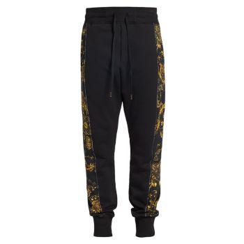 Брюки-джоггеры Regalia Baroque Versace Jeans Couture