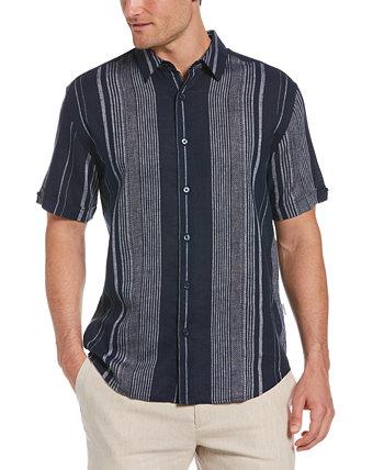 Мужская рубашка в полоску, окрашенную в пряжу, стандартного кроя Cubavera