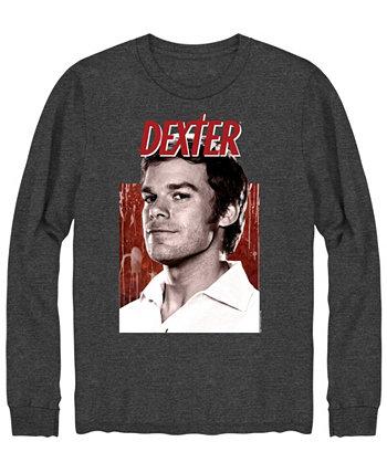 Мужская футболка с длинным рукавом Dexter Portrait Hybrid