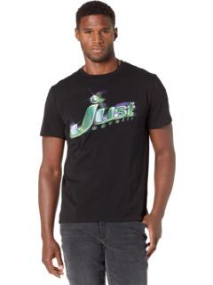 Space Green Logo T-Shirt Just Cavalli